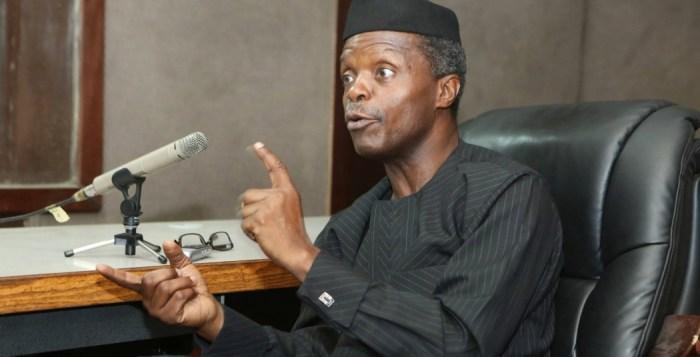 Nigeria's Vice-President Yemi Osinbajo | AP
