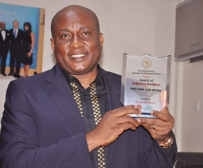 Air Peace Chairman and Chief Executive Officer, Mr Allen Onyema