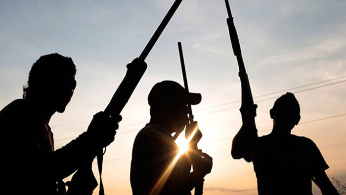 Gunmen criminals kidnappers travelers, fulani militia gana armed robbers bandits kidnapped