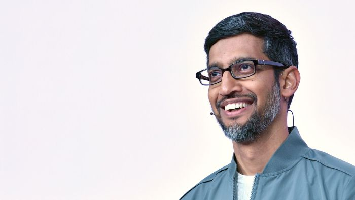 Sundar Pichai. Photo: Josh Edelson/AFP via Getty Images