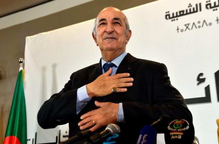 Algeria's President Elect Abdelmadjid Tebboune