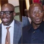 Resigned Obaseki Oshiomhole Edo State The Trent