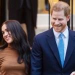 British Prince Harry and Meghan Markle