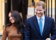 British Prince Harry and Meghan Markle