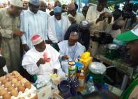 tea NAFDAC The governor of Kano State, Abdullahi Ganduje carries out an empowerment programme for tea sellers in the state in November, 2017.