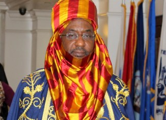 Emir of Kano at the time, Muhammad Lamido Sanusi II