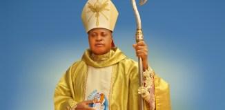Bishop Peter Ebere Okpaleke of the newly-created Catholic Diocese of Ekwulobia