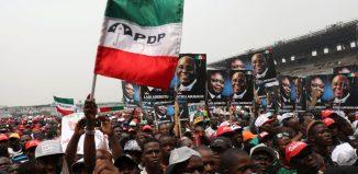 PDP Presidential Rally held in Ibadan in 2019