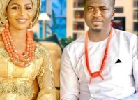 Late Immaculate Okochu and her fiance Loveday Etomi.