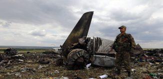 Ukraine Military Plance Crash
