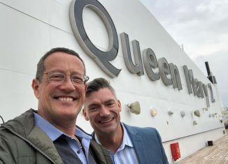 Richard Quest and Chris