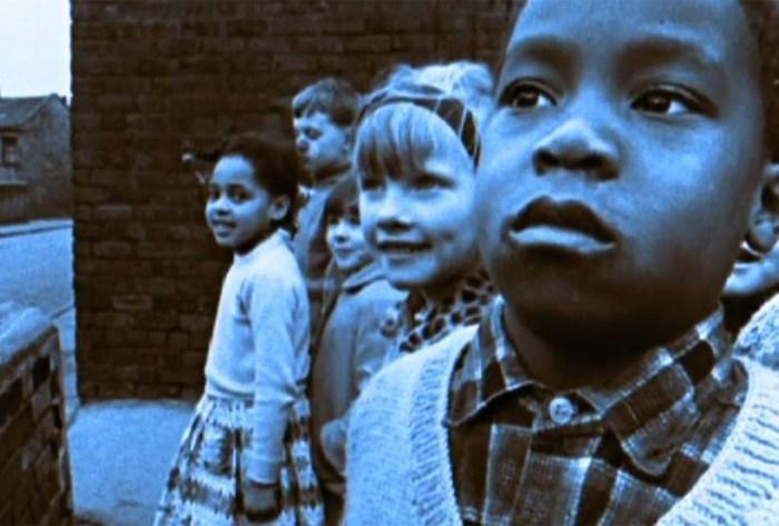 Still shot from Handsworth Songs film by John Akomfrah