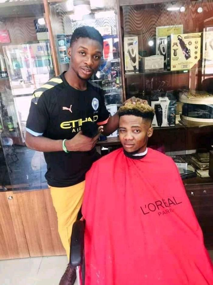 23-year-old Christian barber, Elijah Ode