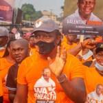 #Walk4Health: Valentine Ozigbo, a Nigerian business mogul and philanthropist, leads thousands in walking for health for Nnewi, Sat, Feb 6, 2021