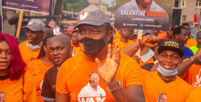 #Walk4Health: Valentine Ozigbo, a Nigerian business mogul and philanthropist, leads thousands in walking for health for Nnewi, Sat, Feb 6, 2021