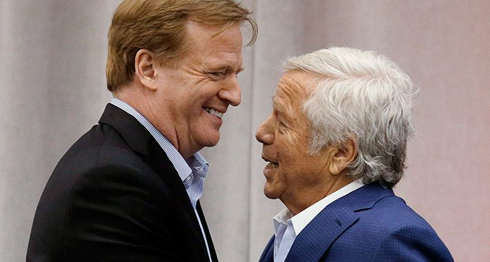 Please, Robert Kraft: Take Your Trophy And Stop Playing The Victim