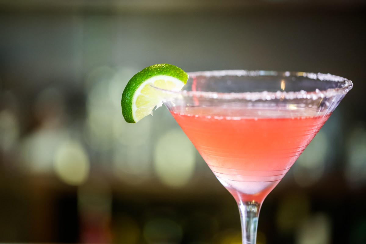 Winter Cosmopolitan Recipe - The Trouble With Husbands