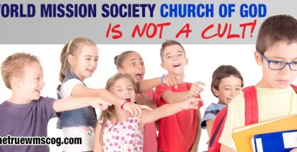 "World Mission Society Church of God is Not a ""Cult"""
