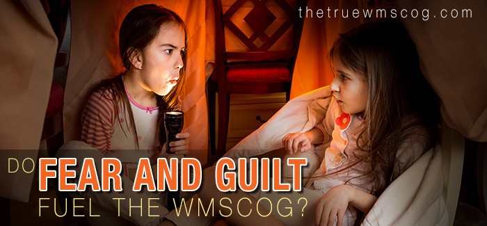 Do Fear and Guilt Fuel the WMSCOG?