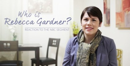 Rebecca Gardner is a member of the World Mission Society Church of God (WMSCOG). Watch her react to a recent segment on NBC, where she was unfairly featured