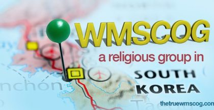 WMSCOG a Religious Group in South Korea