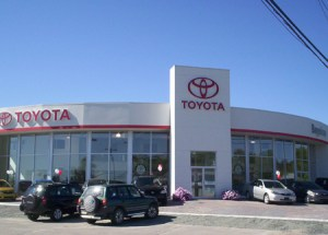 """""""Both certified Toyota dealerships -- and those pending certification -- were built as part of the company's Eco-Image USA II initiative that puts an emphasis on environmental sensitivity when building new facilities or updating current facilities. For instance, under the program, panels used on the building's exterior are made up of 90 percent recycled aluminum and Toyota assists dealers with cutting edge green options, including different power sources such as solar, wind and geothermal."""""""