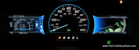 2013 Ford C-MAX Hybrid, Interior, Gauges, Picture Courtesy of Alex L. Dykes
