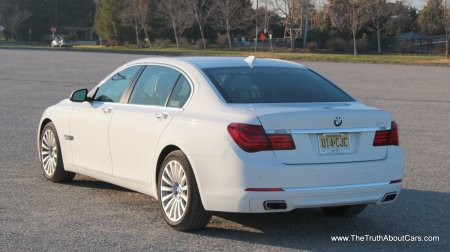 2013 BMW 750Li, Exterior, Rear 3/4, Picture Courtesy of Alex L. Dykes