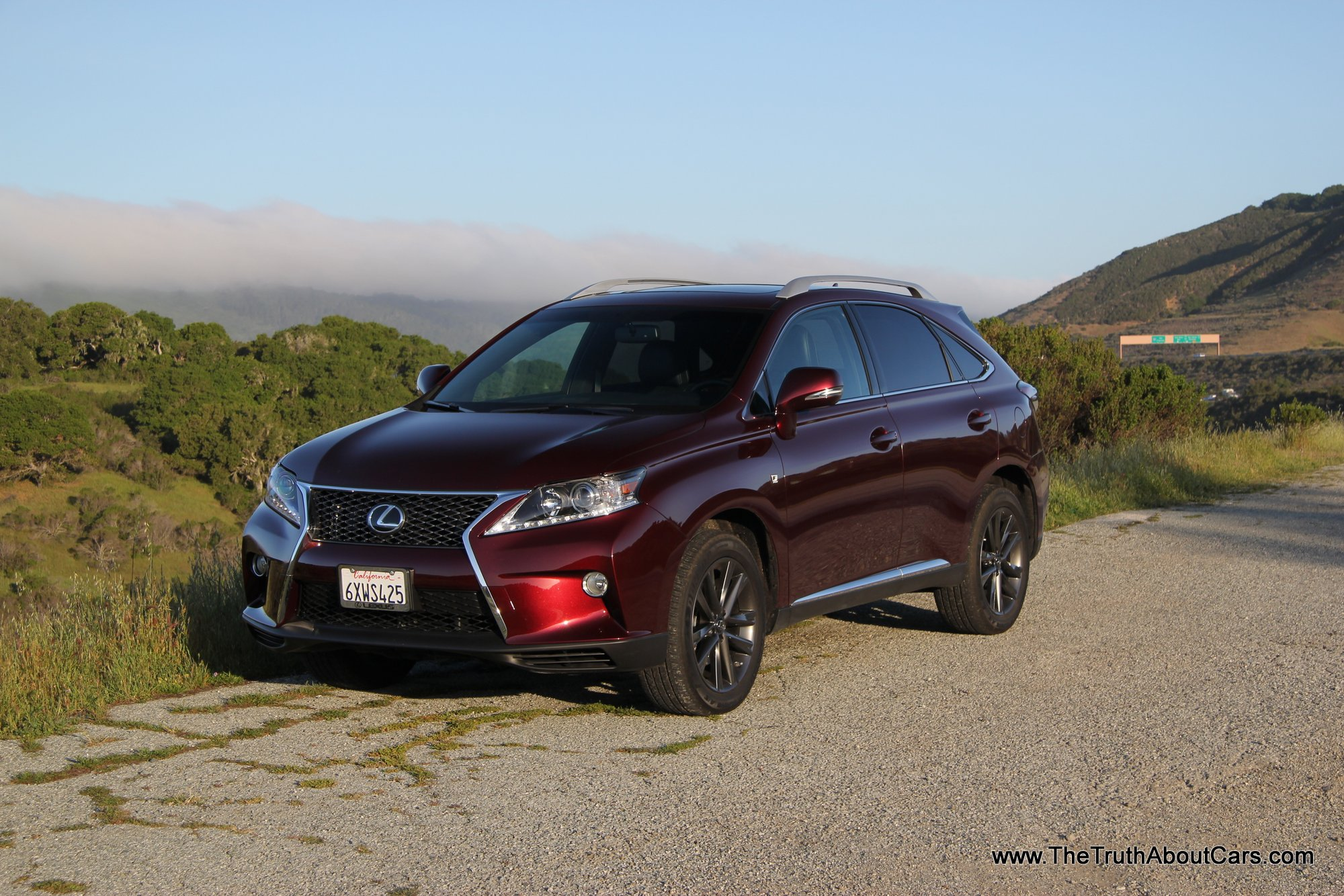 Review 2013 Lexus RX 350 F Sport Video The Truth About Cars