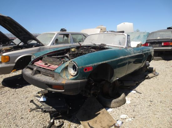 05 - 1979 MGB Down On The Junkyard - Pictures courtesy of Murilee Martin