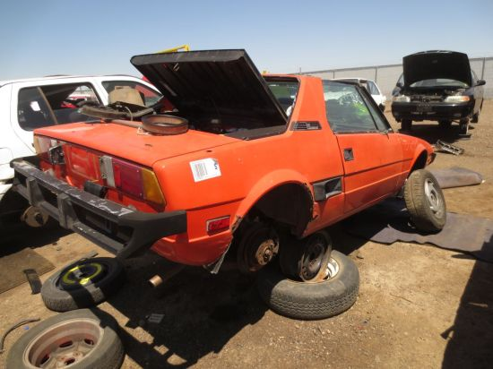 14 - 1978 Fiat X1_9 Down On the Junkyard - Picture courtesy of Murilee Martin