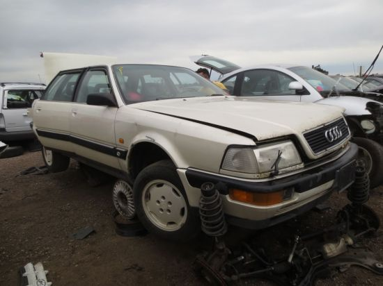05 - 1990 Audi V8 Down On the Junkyard - Picture courtesy of Murilee Martin