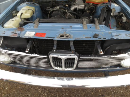 01 - Volvo 240 with BMW Grille in Junkyard - Picture courtesy of Murilee Martin