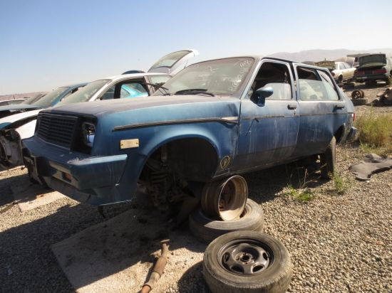 07 - 1984 Chevrolet Chevette Diesel Down On the Junkyard - Picture courtesy of Murilee Martin
