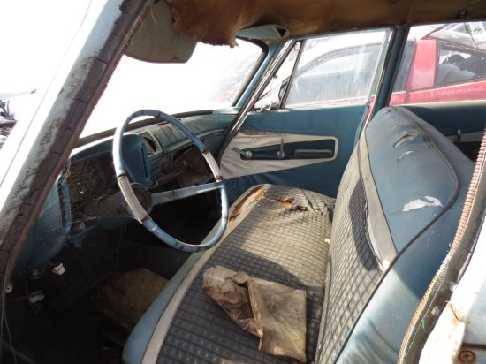 01 - 1960 Plymouth Valiant Station Wagon Down On the Junkyard - Picture courtesy of Murilee Martin