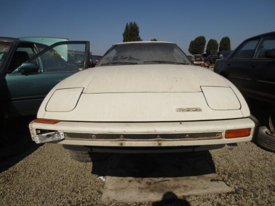 08 - 1979 Mazda RX-7 Down On the Junkyard - Picture courtesy of Murilee Martin