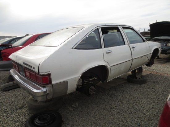 17 - 1982 Chevrolet Citation Down On the Junkyard - Picture courtesy of Murilee Martin