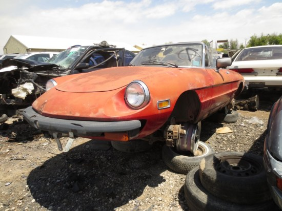 13 - 1981 Alfa Romeo Spider Down On the Junkyard - Picture courtesy of Murilee Martin
