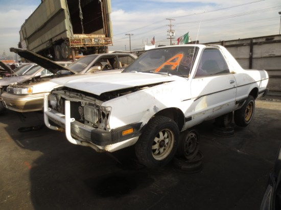 15 - 1982 Subaru BRAT Down On the Junkyard - Picture courtesy of Murilee Martin