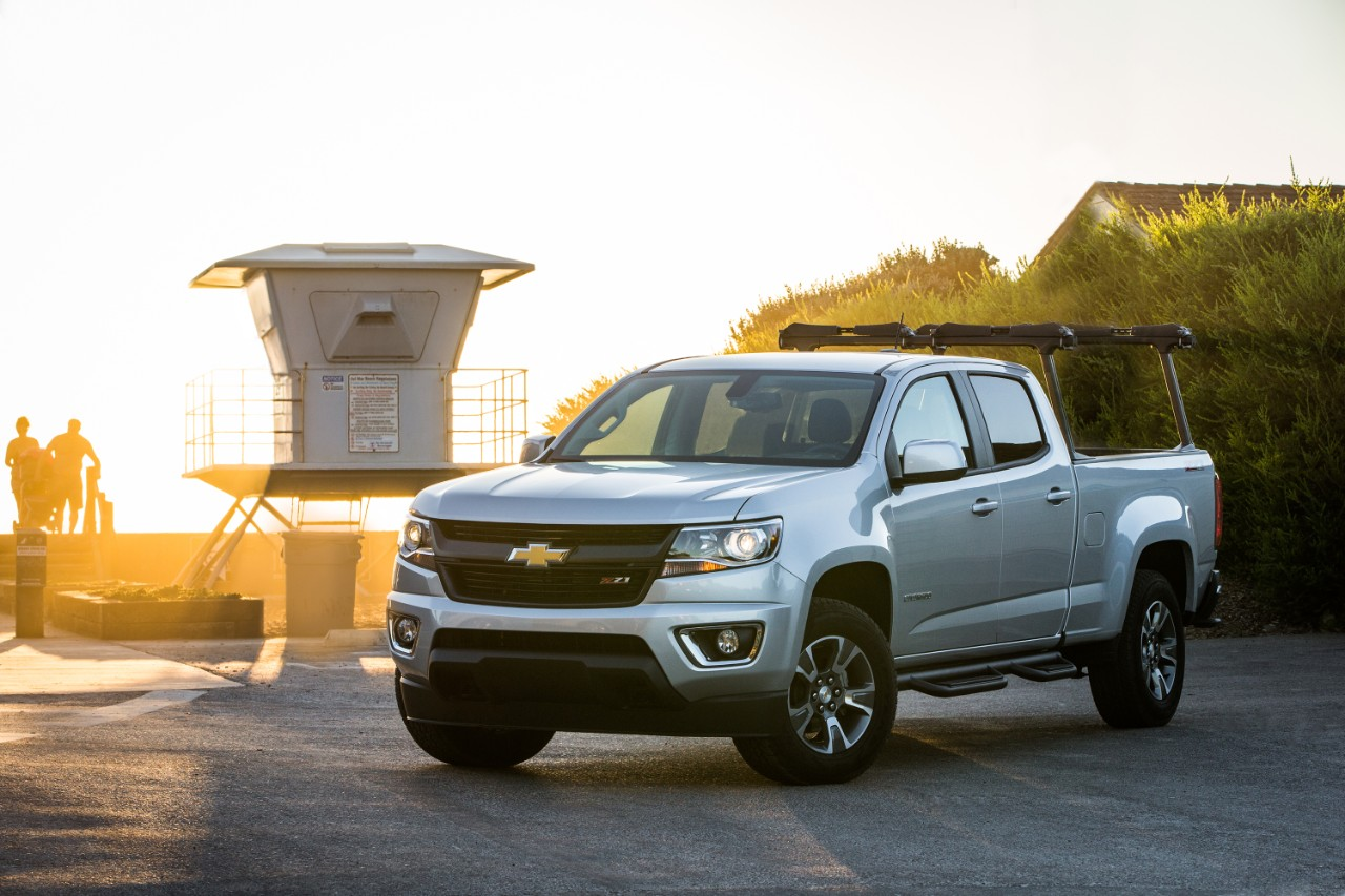 2015 chevrolet colorado the implication is not that gm s midsize trucks