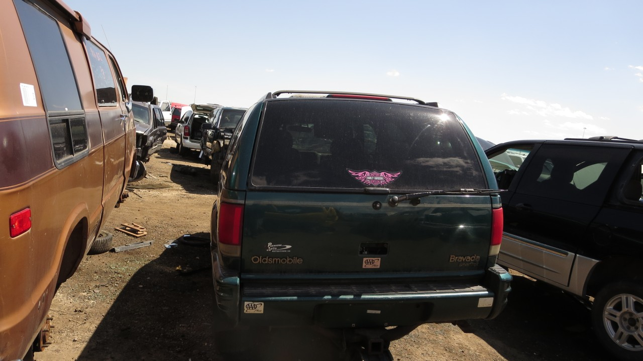 19 1997 oldsmobile bravada down on the junkyard picture courtesy of murilee martin