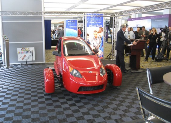 Elio Motors P5 Prototype 2016 NAIAS Detroit, Paul Elio