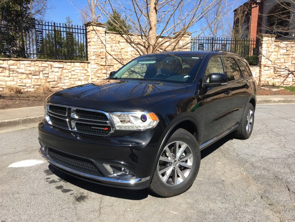 2016 Dodge Durango Limited Front 3/4, Image: © 2016 Bark M./The Truth About Cars