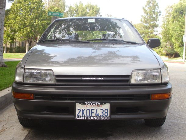 1988 Daihatsu Charade Front, Ryan Glass/The Truth About Cars