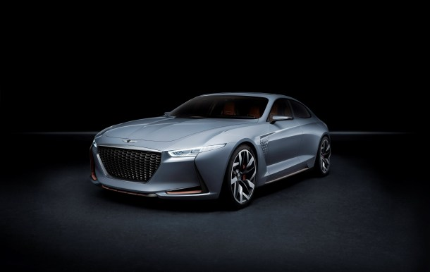 Genesis Hybrid Sports Sedan Concept, New York, Image: Genesis