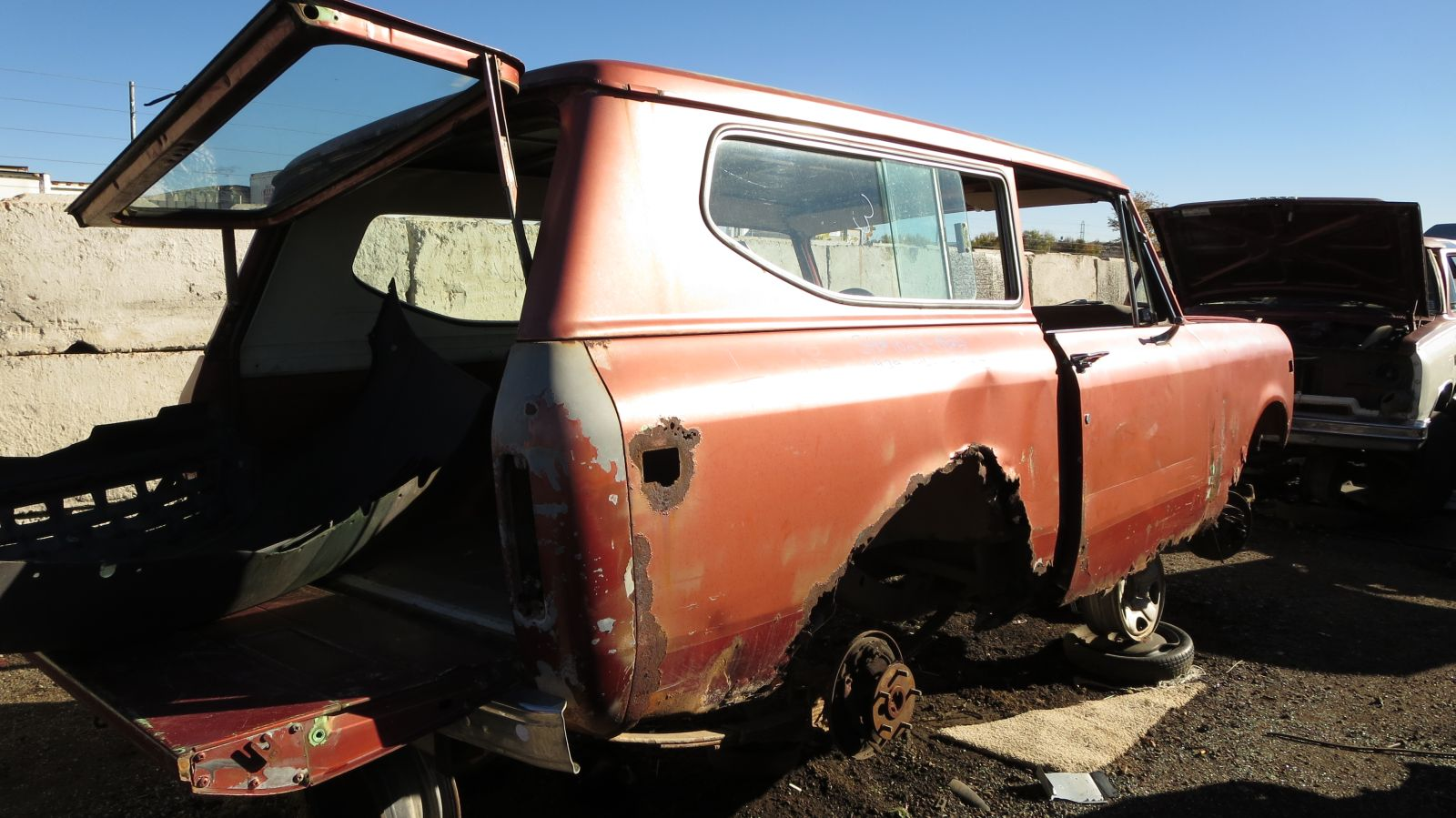 Home by year 1979 cars 1979 trucks car pictures - 1979 International Harvester Scout In Colorado Junkyard Rh Rear View 2016 Murilee Martin