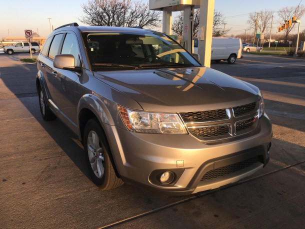 2016 Dodge Journey SXT, Image: © 2016 Bark M./The Truth About Cars
