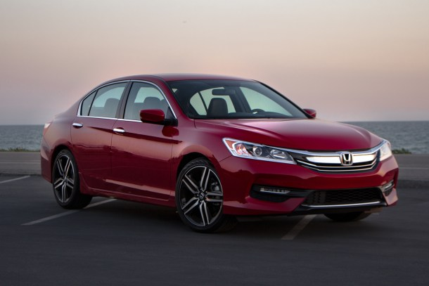 2016 Honda Accord Sport at Sunset Front 3/4 Image: © 2016 Jeff Jablansky/The Truth About Cars