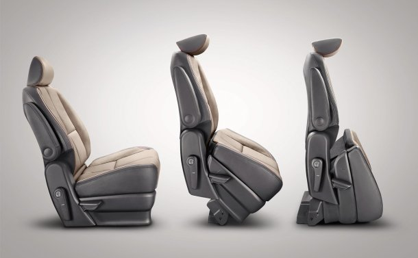 Kia Sedona Second-Row Captain Chair Conversion, Image: Kia