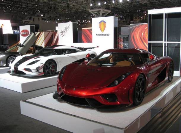 Koenigsegg Regera NY Auto Show - Image: © 2016 Ronnie Schreiber/The Truth About Cars